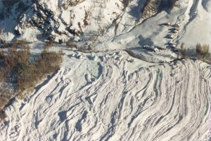 Encyclopédie environnement - avalanches - avalanche coulante