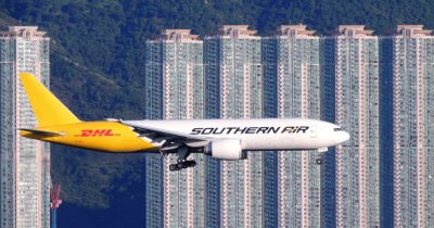 southern air - avion hong-kong - buildings hong-kong - encyclopedie environnement