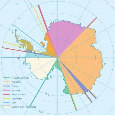 revendications territoriales traite antarctique - encyclopedie environnement