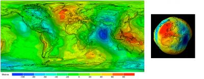 环境百科全书-海洋环境-大地水准面