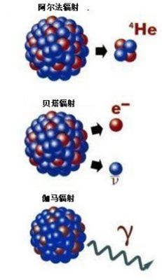 环境百科全书-放射性-放射性主要类型