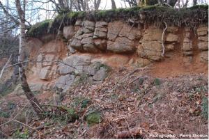 Encyclopédie environnement - biosphère - altération sous un sol - alteration under ground