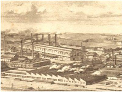 环境百科全书-能量-1880年鲁尔的亨利希冶炼厂