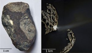 Encyclopedie environnement - origine de la vie - comete - meteorite - origin of life - carbonaceous chondrite