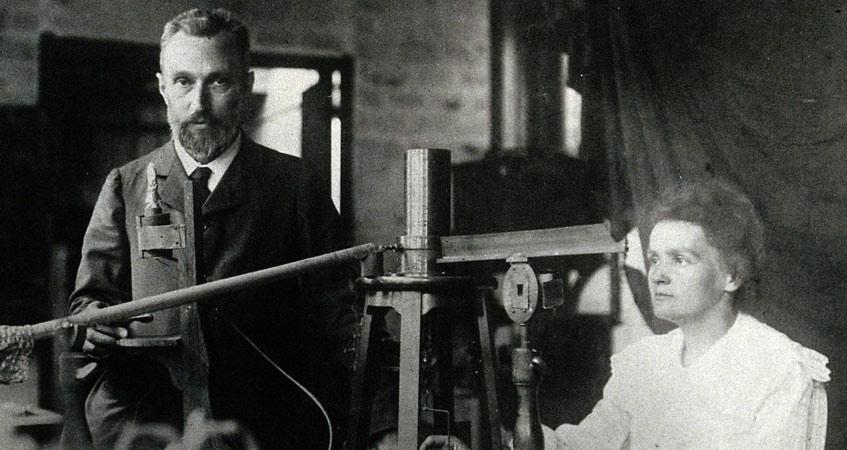 Encyclopedie environnement - radioactivite - Pierre et Marie Curie - radioactivity