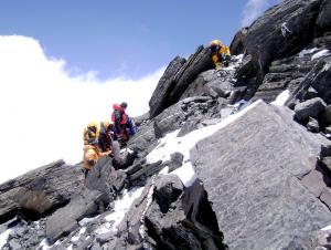Encyclopédie environnement - carbone -roches cacaires Everest