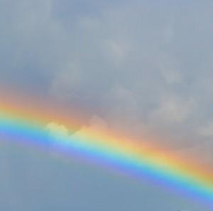 Encyclopédie environnement - arc en ciel - couverture