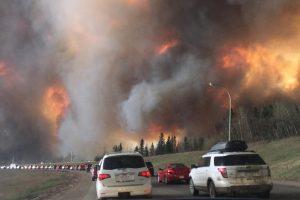 Encyclopedie environnement - feux de vegetation - evacuation Fort McMurray - mc murray wildfire
