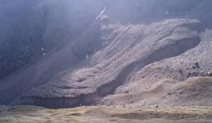 Encyclopédie environnement - permafrost - pergélisol - glacier rocheux de Laurichard - rocky glacier laurichard france