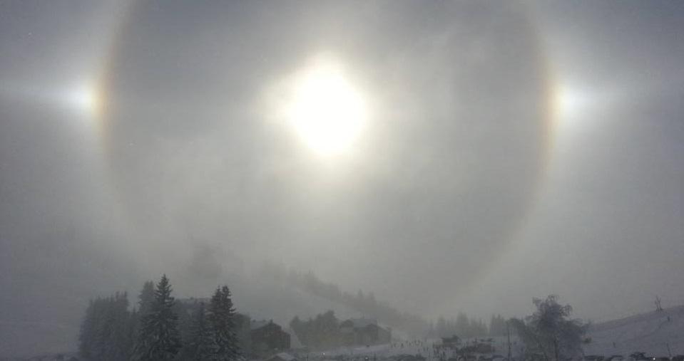Encyclopédie environnement - halos atmosphériques - couverture