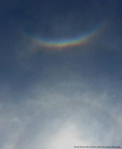 Encyclopedie environnement - halos atmospheriques - Arc circumzenithal - atmospheric halos
