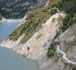 Encyclopédie environnement -glissements de terrain - glissement de terrain du Chambon - landslide of chambon - landslide