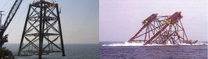Encyclopedie environnement - sols ingenieur - jacket support plateforme offshore