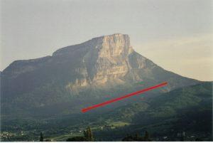 Encyclopedie environnement - eboulement - glissement Granier - sliding of granier - landslides