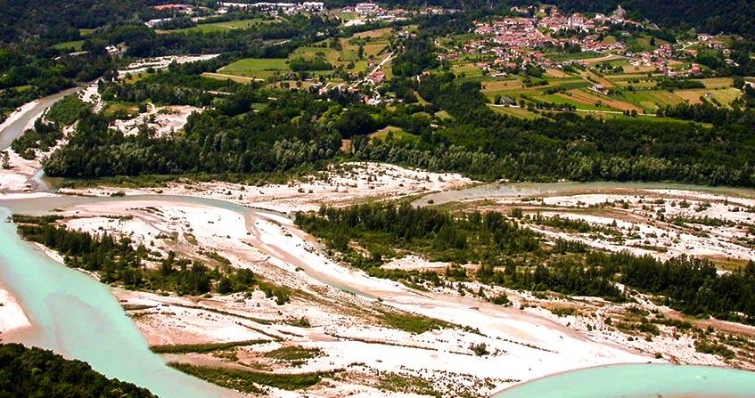 Encyclopedie environnement - paysages alluviaux alpins - couverture