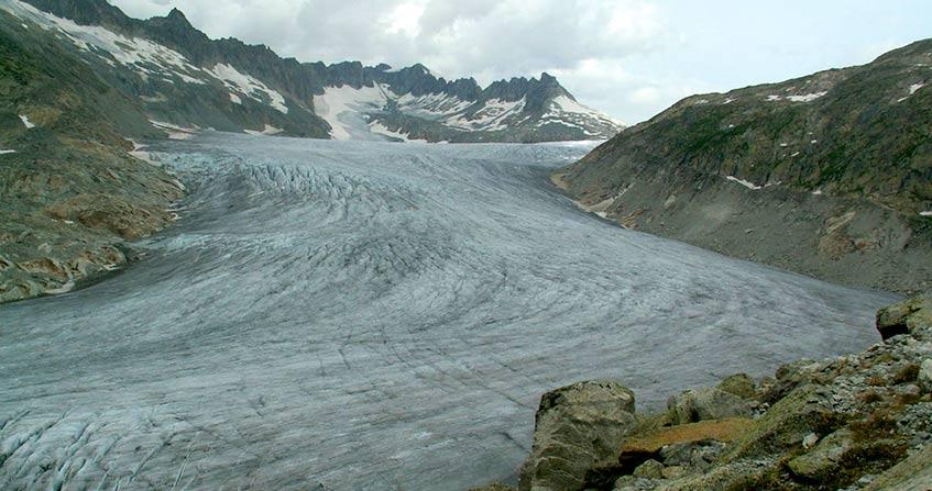 Encyclopédie environnement - glaciers fleuves - couverture