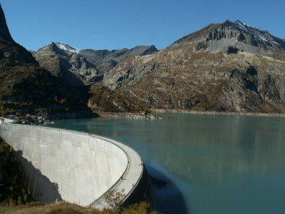 环境百科全书-冰川-Emosson大坝
