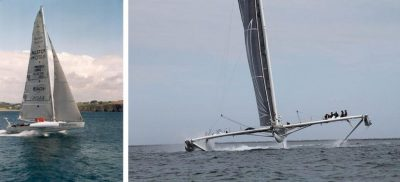 环境百科全书-阿基米德的浮力和升力-水翼帆船