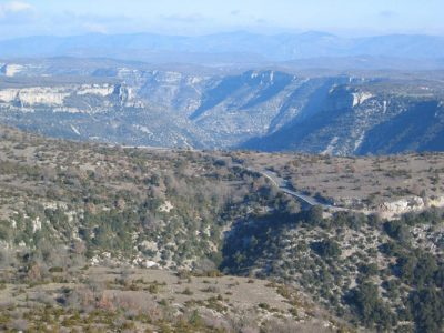 karst - Encyclopedie de l'environnement - Causse de Blandas, Gorges de la Vis (Gard et Hérault)