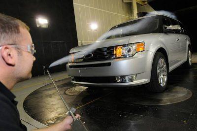 automobile - voiture - ecoulement de trainee - encyclopedie environnement - drag coefficient