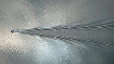 bateau - ocean - vagues - longueur ondes - limite Froude - encyclopedie environnement - boat waves