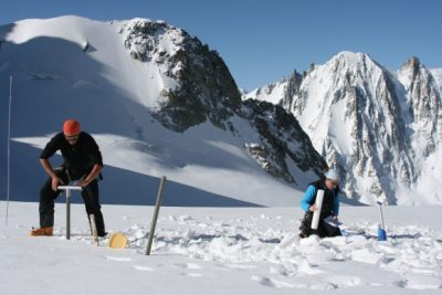 glaciers - glaciers montagnes - alpes - mont blanc - carottage - encyclopedie environnement - alps - mountain glaciers