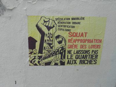 affiche - affichette - exclusion - pauvres - peuvreté - encyclopedie environnement - poor populations