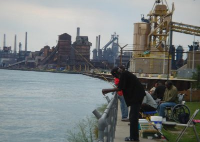 riviere detroit - detroit - etats-unis - etats unis detroit - detroit river