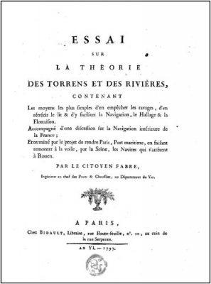 page de garde livre Fabre - torrents - rivieres- barrages - théorie torrents rivieres - encyclopedie environnement