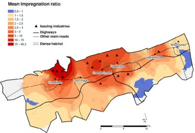 map of lichens dunkirk