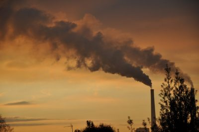 fumees usine - usines - usine - centrale thermique - centrale thermique havre - pollution - co2