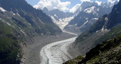 glacier -montagne - mer glace chamonix - glacier flows - sea of ice chamonix france