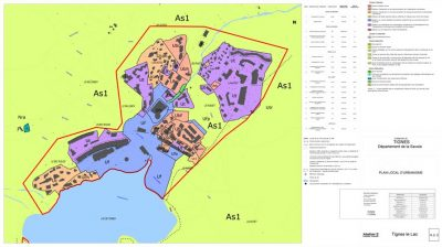 plan local urbanisme lac tignes - lake of tignes - local urban planning programme