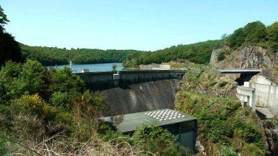 barrage - barrage poids - hydroelectricite - weight dam - dams