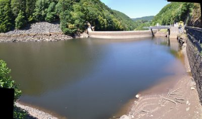 barrage - étiage - marnage - matrice sedimentaire - dam