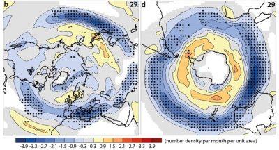 环境百科全书-极端气候和气候变化-RCP8.5情景