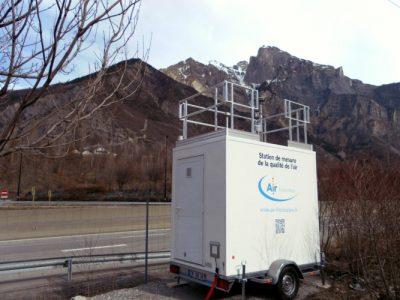 环境百科全书-空气中的颗粒物-移动发射测量站