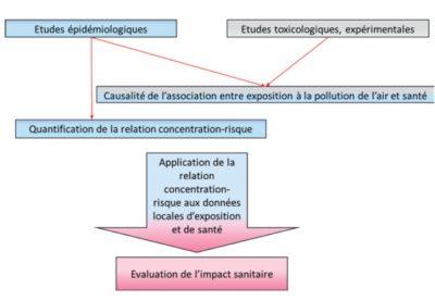 impact sanitaire pollution air