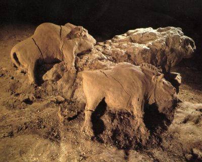 bisons grotte tuc d'audoubert