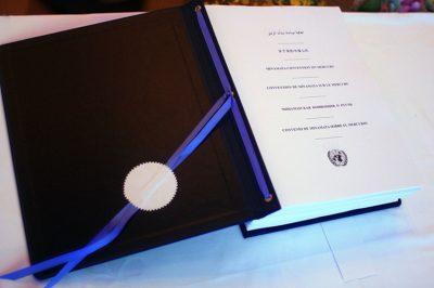 环境百科全书-关于汞的水俣公约-准备签署《关于汞的水俣公约》
