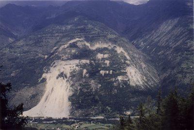 la clapiere france - glissement terrain france