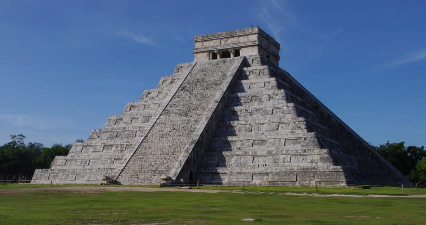 civilisation maya - pyramide kukulkan