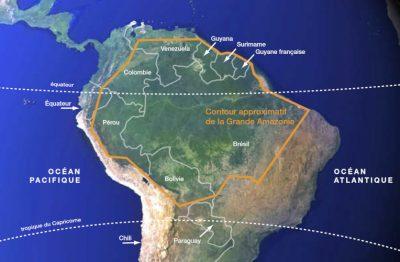 amazonie - carte amazonie