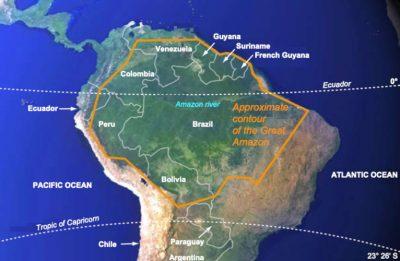 amazonia map