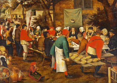 noces paysannes - brueghel