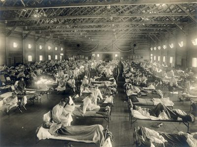 grippe espagnole 1918 - hopital fort riley grippe espagnole 1918