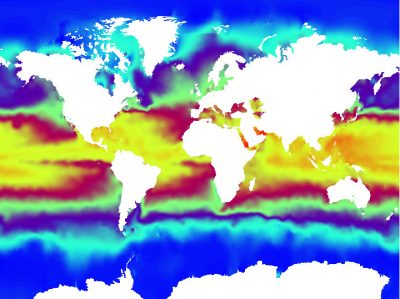 temperature ocean - temperature surface oceans