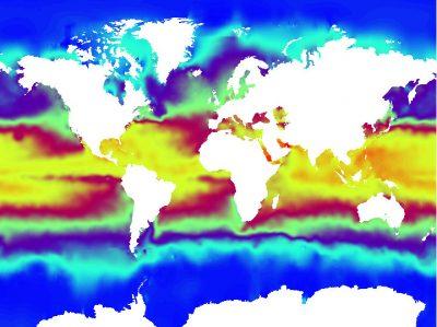 temperature ocean - temperature surface oceans