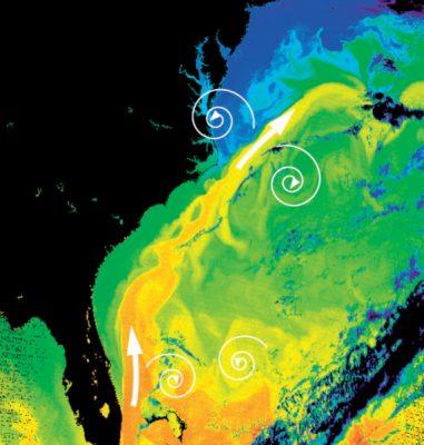 环境百科全书-缓慢而强大的大洋环流-墨西哥湾流及其次生涡旋