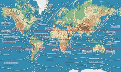 oceans planete - courants oceaniques - circulation thermohaline - circulation oceanique